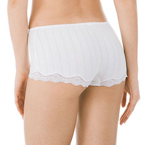 Calida Damen Panties Etude Toujours Panty Weiß (Weiss 001)