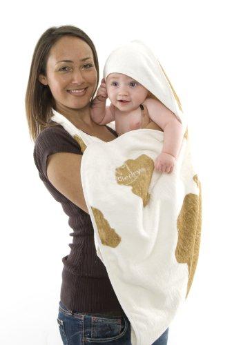 cuddledry CC01 Das Original-Schürzen-Babybadetuch mit Kuhmuster Preisvergleich