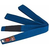 Ju-Sports Unisex Jiu-Jitsu brasileño Cinturón, Unisex, Brazilian Jiu-Jitsu, Azul, A4 (320)
