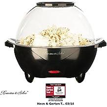 Rosenstein & Söhne Popcornmaschinen: Profi-Popcorn-Maschine Show für zu Hause (Profi Popcornmaschine)