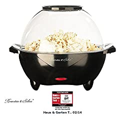 "Rosenstein & Söhne Popcornmaschinen: Profi-Popcorn-Maschine""Show"" für zu Hause (Profi Popcornmaschine)"