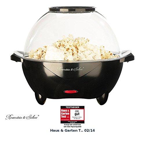 Rosenstein & Söhne Profi-Popcorn-Maschine für zu Hause