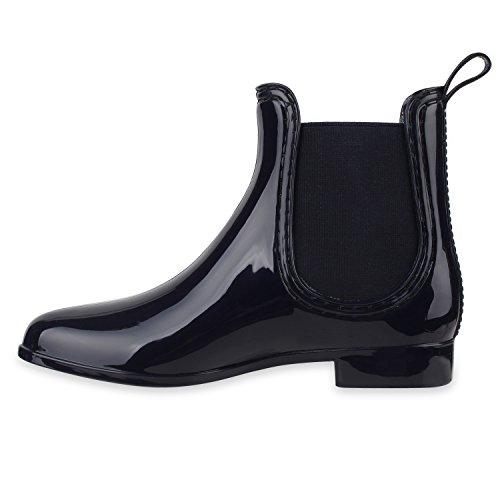 Stiefelparadies - Stivali Donna Blu scuro