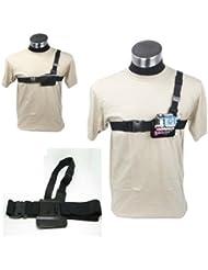 JMT Poids léger réglable 3 Points poitrine ceinture sangle d'épaule pour GoPro HD Hero 2 3 appareil photo