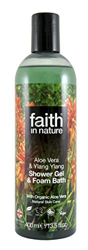 Faith in Nature Aloe Vera Foam Bath and Shower Gel 400ml