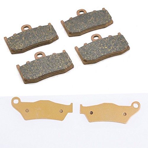 Wotefusi Motorcycle New 6 Pieces 3 Pair Front & Rear Tail Braking Brake Pads For BMW R1200RT 2003-2008 2004 2005 2006 2007