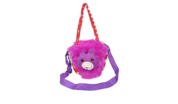 Envie Faux Fur Purple Coloured Zipper Closure Sling Bag  Amazon.in  Shoes    Handbags e18a524792d0a