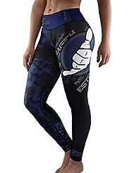 Bõa Esportiva 2, 0 Blue Legging Sport Femme / Compressor /Corsaire Fille, Bleu, FR : XS (Taille Fabricant : XS)