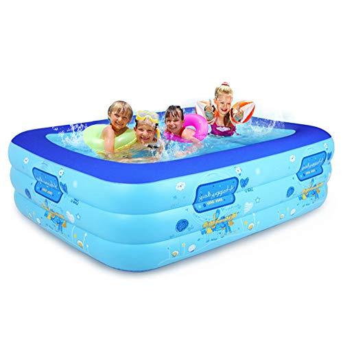 TXDY Aufblasbarer Pool für Säuglingskinder, Home Adult Übergroßes Verdickungskind, das Baby-Spielzeug-aufblasbaren Pool -160x120x60cm badet