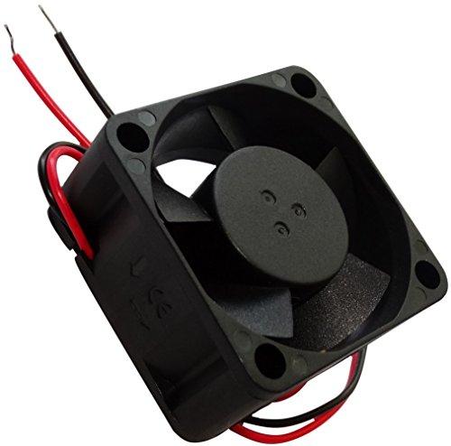 Aerzetix: Gehäuse Lüfter Gehäuselüfter Axial-Lüfter 24V 40x40x20mm 13,01m3/h 21dBA 6200rpm 0.8W 0.033A 2 Kabel 26AWG C14537