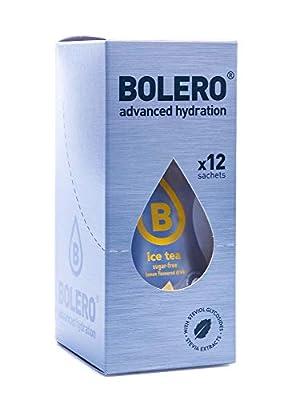 Bolero Eistee - Zitrone mit Stevia (12er Pack)