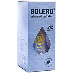 Paquete de 12 sobres bebida Bolero sabor Té Helado Limón