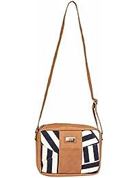 2AM Women's Leather Sling Bag( Brown) - B078WWCQNV
