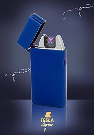 Tesla Lighter T05 (Dual Arc) in der Farbe Blau