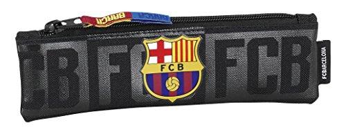 Futbol Club Barcelona – Estuche portatodo Estrecho Color Negro (SAFTA 811725025)