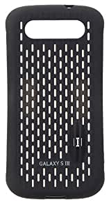 Samsung Licensed Cool Vent Clip-On Case Cover for Galaxy S3 by Anymode - Black