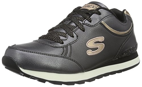 Skechers (SKEES) - Equalizer- Game Point, Scarpa Tecnica da uomo, nero (bkw), 36