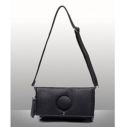 La nuova borsa della busta di frizione ad alta capacità piegato l'Europa e l'afflusso di mano femminile della borsa della borsa delle borse borsa ( Colore : Khaki ) Khaki