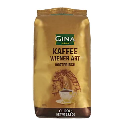 Kaffee GINA Wiener ganze Bohnen 1 kg