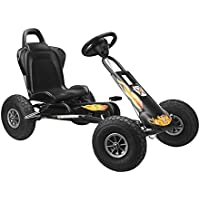 Ferbedo Air Runner Pneumatic Tyres Go Kart (Black)