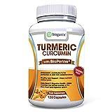 Best Curcumin 1000mgs - BioGanix Turmeric Curcumin Supplement with BioPerine Review