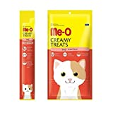 #1: Perfect Companion Me-O Creamy Treats for Cats and Kittens Pack of 12 (Crab)
