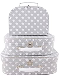 Sass and belle by RJB Stone - Valise, Trolley - Set de 3 valisettes Etoiles