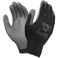 Ansell HyFlex 11-601 Guanti per usi multipli, protezione meccanico, colore: grigio (Confezione da 12 paia)