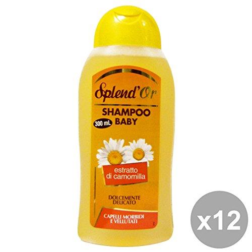 Set 12 SPLEND'OR Shampoo BABY Camomilla 300 Ml. Prodotti per capelli