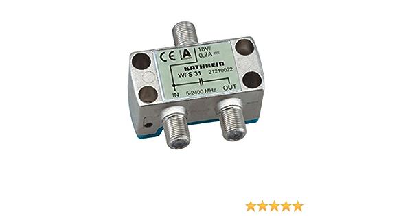 Kathrein Wfs 31 F 2 X F Silver Cable Interface Computer Zubehör