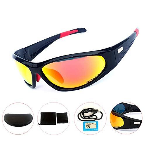 ANSKT Männer und Frauen professionelle Fahrradsonnenbrille leichte Fahrradsportbrille UV400 Golfbrille Angelstrand 1