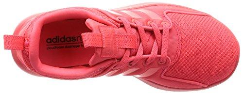 Adidas Lady Cloudfoam Little Racer W Niedrige Sneaker Rot (rojimp / Rojimp / Rojimp)