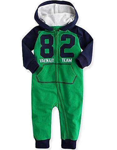 Vaenait Baby 80-92 Maedchen Infant Jumpsuit Rompers Baby Vaenait Team 82 Green 18-24M