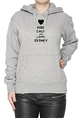 keep-calm-and-love-sydney-mujer-sudadera-con-capucha-pullover-gris-algodon-womens-hoodie-sweatshirt-