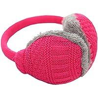 Unisex stricken EarMuffs Faux Furry Earwarmer Winter Outdoor-Ohrenschützer (rot) preisvergleich bei billige-tabletten.eu
