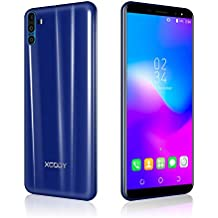 Xgody SIM Free Mobile Phones, Y28 Android 7.0, Dual SIM Unlocked Smartphone 6 Inch
