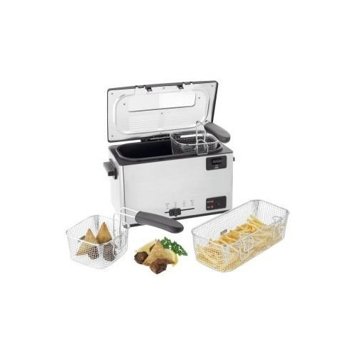 Judge Multi Basket Deep Fryer, Silver, 2000 W