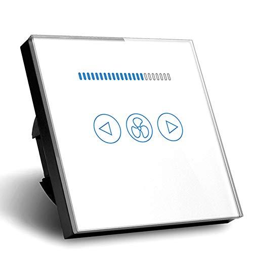 Ventilador Regulador de velocidad lámpara de pared Interruptor EU estándar Touch interruptor...