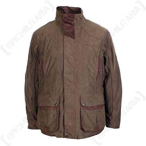Percussion 3 In 1 Normandie Jacke Mit Abnehmbarer Weste Khaki (Medium)