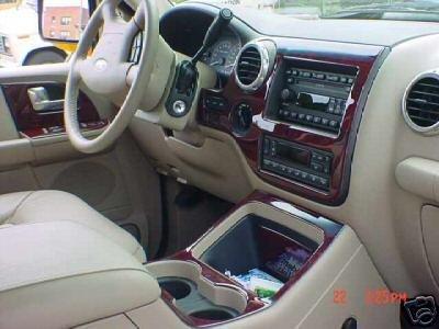Ford Expedition Eddie Bauer Innen Burl Wood Dash Trim Kit Set 2003 2004 2005 2006 (Expedition Ford)