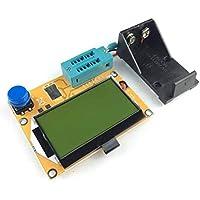 LCR-T4 12864 9V LCD Medidor de transistor digital Medidor de retroiluminación Diodo Triodo Medidor de ESR MOSFET/JFET/PNP/NPN L/C/R