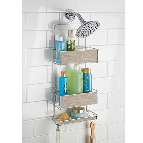 Mdesign scaffale da appendere in doccia organizer doccia - Appendini bagno ...