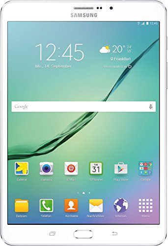 Samsung Galaxy Tab S2 T715N 20,31 cm (8 Zoll) Tablet-PC LTE (2 Quad-Core Prozessoren, 1,9GHz + 1,3GHz, 3GB RAM, 32GB, Android 5.0) weiß - Android-tablet 1536 2048 X