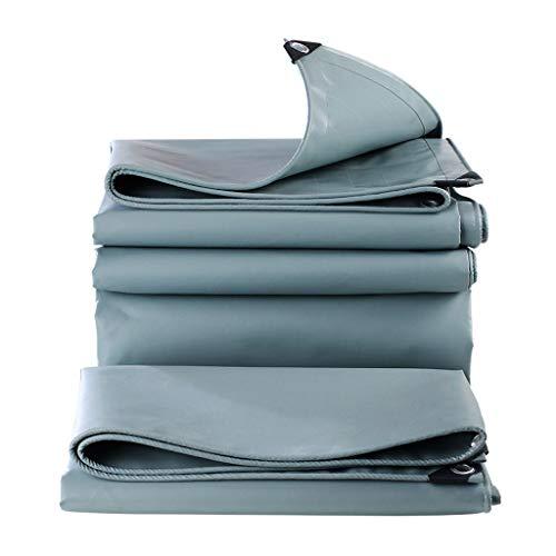TY-Tarpaulin MMM@ Plane Superdickes flammhemmendes feuergraues Messerkratztuch Silbernes Regentuch Wasserdichter Sonnenschutz Weicher Anti-Aging-Schutz Langlebig 0,65 kg/Quadratmeter