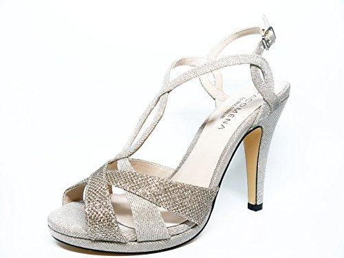 paco mena shoes silver size 38