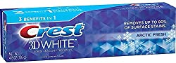 Crest 3D White Arctic Fresh Whitening Toothpaste, 4.8 oz Pack of 2