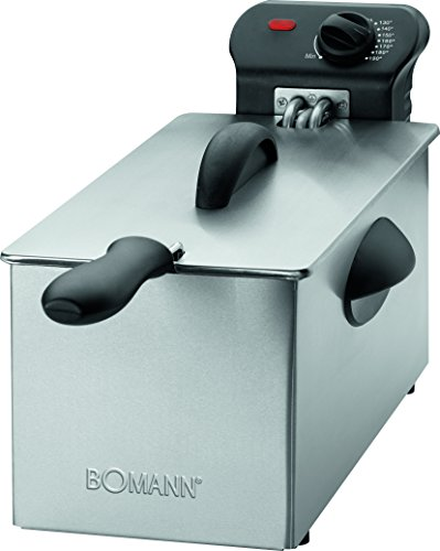 Bomann FR 2264 CB Edelstahl-Fritteuse mit Kaltzonentechnik