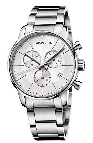 Calvin Klein Herren-Armbanduhr Chronograph Quarz Edelstahl K2G27146