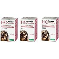 Specchiasol – HC + tricoligo Mujer 3 paquetes de 40 Pastillas Prevención Caída Cabello, antisalpicaduras