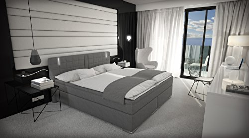 Doppelbett Mit Led ~ 🛋 boxspringbett cm doppelbett hotelbett inkl led
